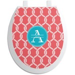 Linked Rope Toilet Seat Decal (Personalized)
