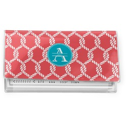 Linked Rope Vinyl Checkbook Cover (Personalized)
