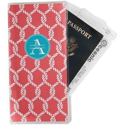 Linked Rope Travel Document Holder