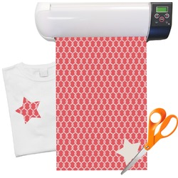 "Linked Rope Heat Transfer Vinyl Sheet (12""x18"")"