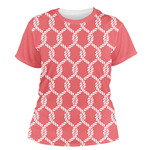 Linked Rope Women's Crew T-Shirt (Personalized)