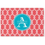 Linked Rope Woven Mat (Personalized)