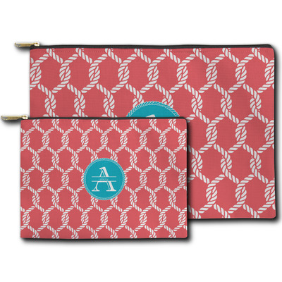 Linked Rope Zipper Pouch (Personalized)
