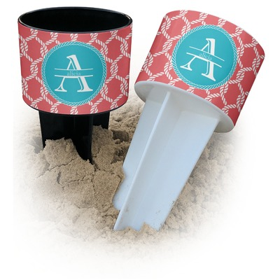 Linked Rope Beach Spiker Drink Holder (Personalized)