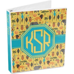 African Safari 3-Ring Binder (Personalized)