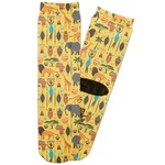 African Safari Adult Crew Socks (Personalized)