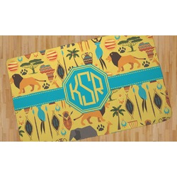African Safari Area Rug (Personalized)