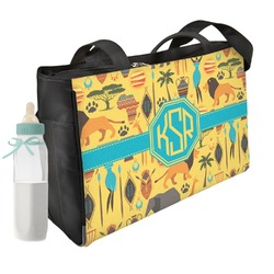 African Safari Diaper Bag (Personalized)