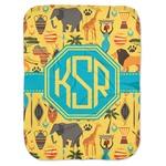 African Safari Baby Swaddling Blanket (Personalized)