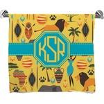 African Safari Full Print Bath Towel (Personalized)
