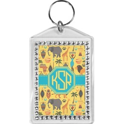 African Safari Bling Keychain (Personalized)