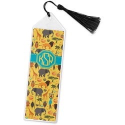 African Safari Book Mark w/Tassel (Personalized)