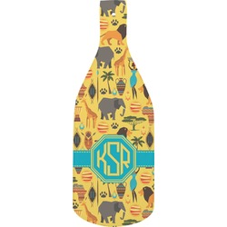 African Safari Bottle Shaped Cutting Board (Personalized)