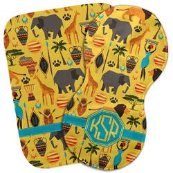 African Safari Burp Cloth (Personalized)