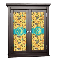 African Safari Cabinet Decal - Custom Size (Personalized)