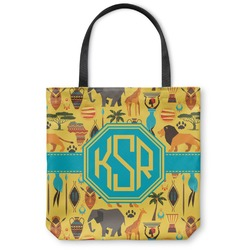 African Safari Canvas Tote Bag (Personalized)