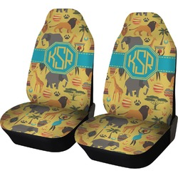 African Safari Car Seat Covers (Set of Two) (Personalized)