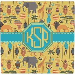 African Safari Ceramic Tile Hot Pad (Personalized)