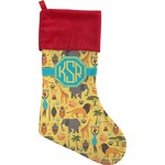 African Safari Christmas Stocking (Personalized)