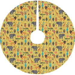African Safari Tree Skirt (Personalized)