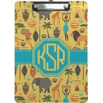 African Safari Clipboard (Personalized)