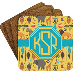 African Safari Coaster Set (Personalized)