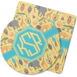 African Safari Rubber Backed Coaster (Personalized)