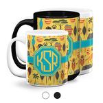 African Safari Coffee Mugs (Personalized)