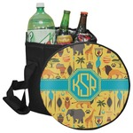 African Safari Collapsible Cooler & Seat (Personalized)