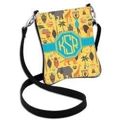African Safari Cross Body Bag - 2 Sizes (Personalized)