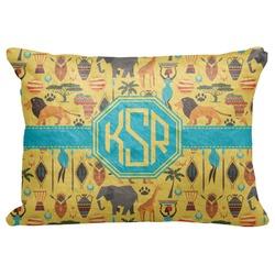 "African Safari Decorative Baby Pillowcase - 16""x12"" (Personalized)"