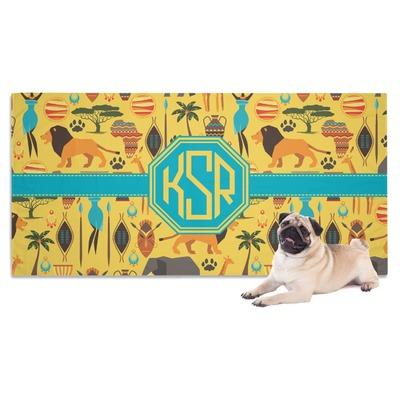 African Safari Dog Towel (Personalized)