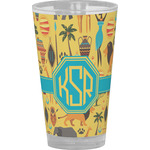 African Safari Drinking / Pint Glass (Personalized)