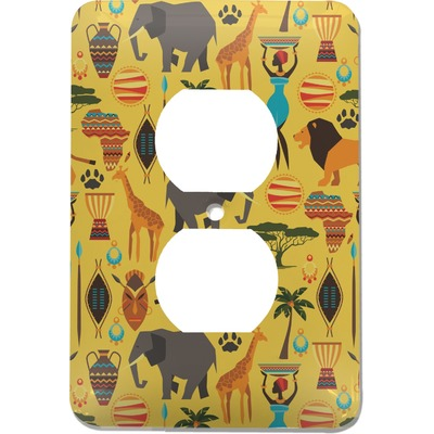 African Safari Electric Outlet Plate (Personalized)