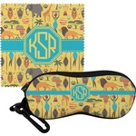 African Safari Eyeglass Case & Cloth (Personalized)