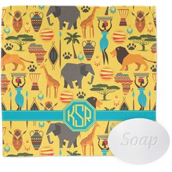 African Safari Wash Cloth (Personalized)