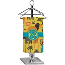 African Safari Finger Tip Towel - Full Print (Personalized)