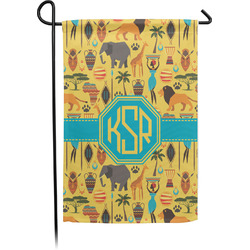 African Safari Garden Flag With Pole (Personalized)