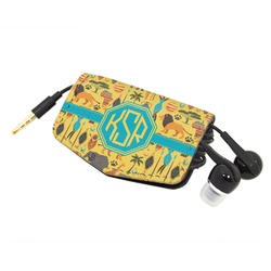 African Safari Genuine Leather Cord Wrap (Personalized)