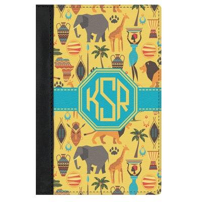 African Safari Genuine Leather Passport Cover (Personalized)