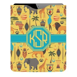 African Safari Genuine Leather iPad Sleeve (Personalized)