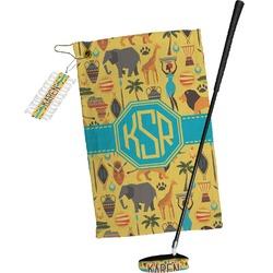 African Safari Golf Towel Gift Set (Personalized)