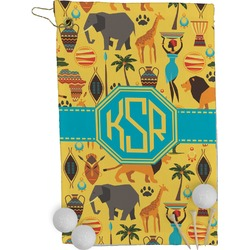 African Safari Golf Towel - Full Print (Personalized)