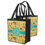 African Safari Grocery Bag (Personalized)