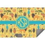 African Safari Indoor / Outdoor Rug (Personalized)