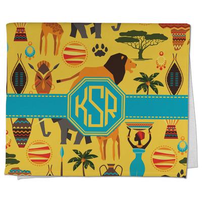 African Safari Kitchen Towel - Full Print (Personalized)