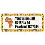African Safari Return Address Labels (Personalized)