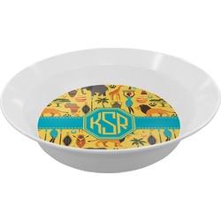 African Safari Melamine Bowl (Personalized)
