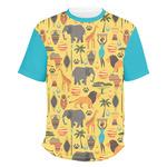 African Safari Men's Crew T-Shirt (Personalized)