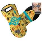 African Safari Neoprene Oven Mitt (Personalized)